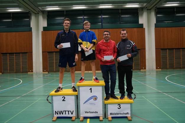 1. Rang für Robin Renold, sowie 2. Rang für Marcel Vogelsang im Herren B