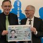 Regierungsrat Mario Fehr und Urs Betschart, Chef des Migrationsamtes Zürich.
