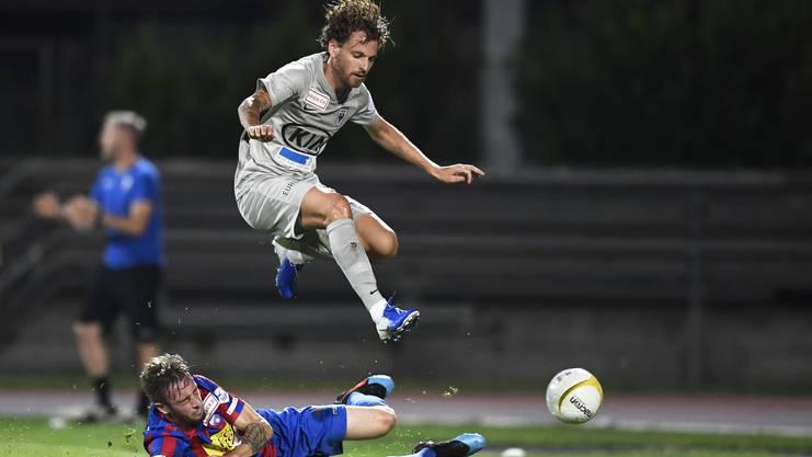 Olivier Jäckle könnte in 3-4 Wochen wieder bereit für einen Ernstkampf sein.