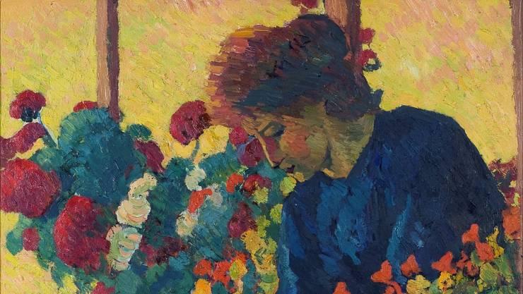 Highlights aus dem Kunstmuseum Solothurn sind derzeit im Kunsthaus Zug zu sehen. So auch Giovanni Giacomettis «Sul balcone».