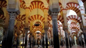 Die Mezquita-Catedral in Córdoba zeugt noch heute von der einstigen Blüte der maurischen Herrschaft in Spanien. keystone
