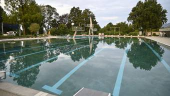 Das Grenchner Gartenbad bleibt diesen Sonntag geschlossen