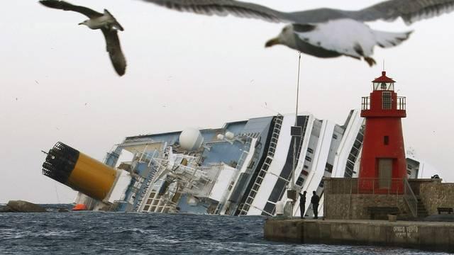 """Die Suche nach Vermissten bei der """"Concordia"""" wird eingestellt (Archiv)"""