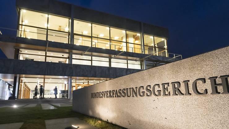 Die AfD ist mit ihren Verfassungsklagen vor dem Bundesverfassungsgericht in Karlsruhe abgeblitzt.