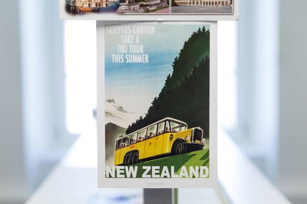 Auch in Neuseeland fahren Busse umhehr