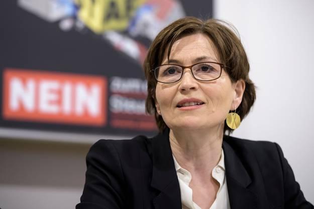 Nein zu Laubers Angriffen auf seine Aufsicht: Regula Rytz, Präsidentin der Grünen.