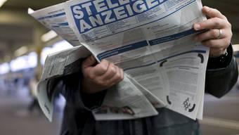 Die Arbeitslosigkeit im Aargau stagniert. (Archiv)
