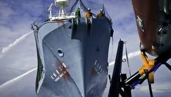 Auch im Visier von Sea Sheperd: Das japanische Fabrikschiff Yushin Maru No. 3 (Archiv)