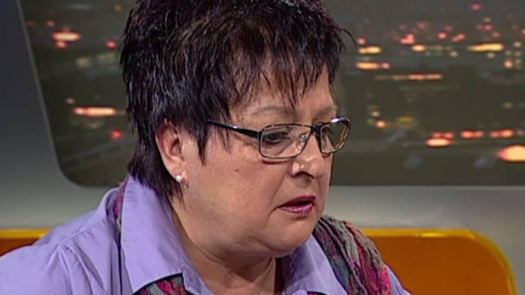 Benno Studers Mutter Beni in der Talk-Sendung
