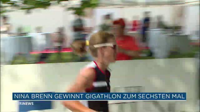 Nina Brenn gewinnt Gigathlon