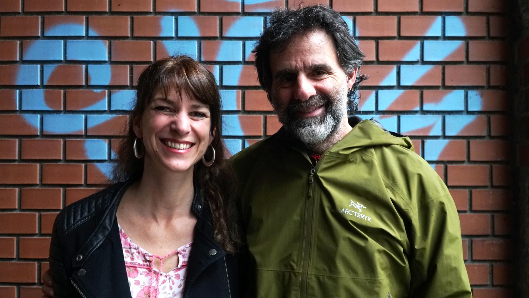 Sharon Zucker mit Reno Sommerhalder