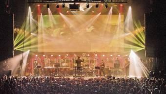 Triptykon bei der Aufführung von «Requiem» mit dem Metropole Orkest am holländischen Roadburn Festival 2019.