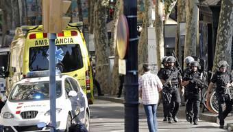 Beim Terroranschlag in Barcelona sind bisher 13 Menschen ums Leben gekommen
