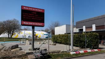 Seit dem 17. März ist das Sportzentrum Zuchwil geschlossen und verlassen.