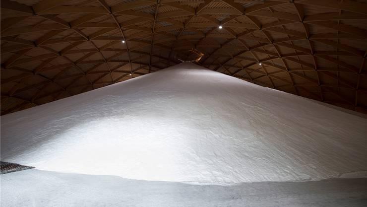 Die Salzberge in den Saldomen sind in den letzten Wochen geschrumpft. az archiv