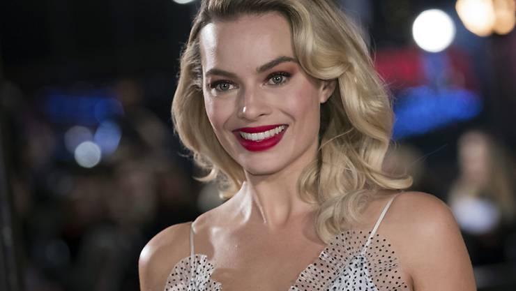 Die australische Schauspielerin Margot Robbie wird in einem Kinofilm die Barbie-Puppe spielen. (Archivbild)
