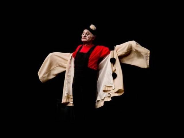 Clown Dimitri solo auf der Bühne – die Highlights.