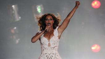 Ein Fan umarmte Beyoncé etwas zu heftig (Archiv)