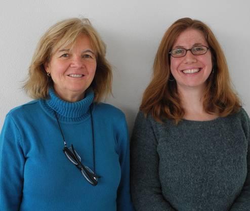 Die zwei Gesichter von Benevol: Rosmarie Wyss (l.) und Fabienne Besmer.