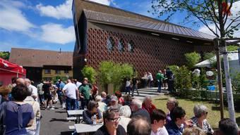 Rund 600 Besucher kamen zur Eröffnung des neuen Gemeindehauses.