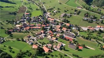 Das schmucke Dorf Thalheim: Dessen Stimmberechtigte hatten an der Wintergmeind über vieles zu entscheiden.