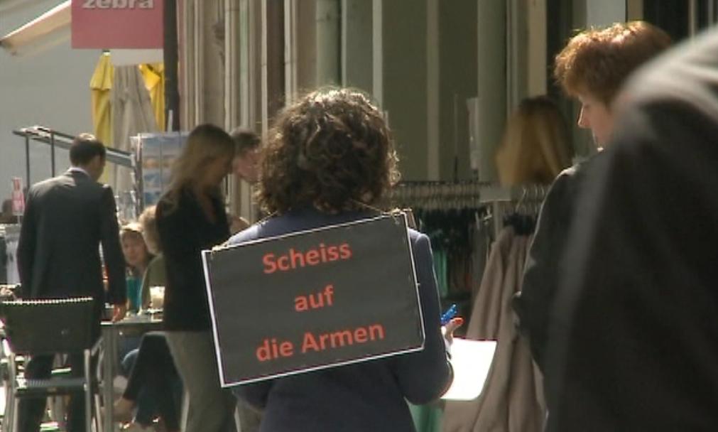 «Scheiss auf die Armen» - das Schweizer Experiment