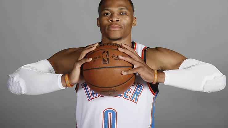 Noch mehrere Jahre für Oklahoma City Thunder aktiv: Russell Westbrook