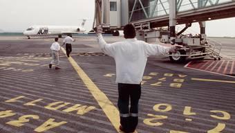 Der Flughafen in Nizza (Archiv)