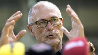 Stellt sich bedingungslos hinter sein Team mit Captain Stephan Lichtsteiner: SFV-Präsident Peter Gilliéron