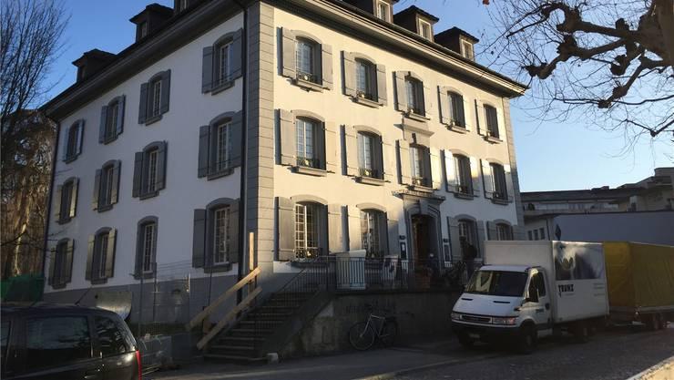 Das Hübscher-Haus ist gross, aber kleinräumig unterteilt.Katja Schlegel