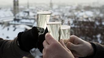 Anstossen auf das neue Jahr!