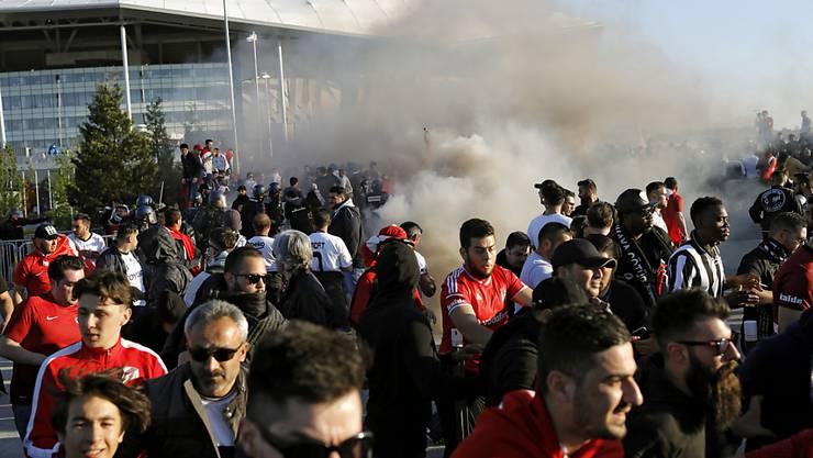 Ausschreitungen rund um das Europa-League-Spiel Lyon gegen Besiktas Istanbul