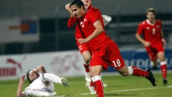 Hier im Einsatz für die U-21-Nationalmannschaft