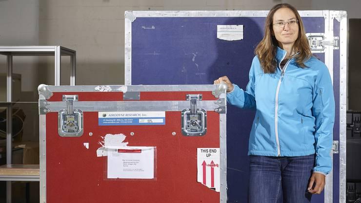 Julia Schmale ist Atmosphärenwissenschafterin am Paul-Scherrer-Institut in Villigen AG.