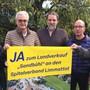 Ein Teil des Ja-Komitees (von links): Henry Jager (GLP), Hansueli Etter (SVP), Boris Steffen (SVP), Dominic Schläpfer (SVP) und Robert Welti (EVP