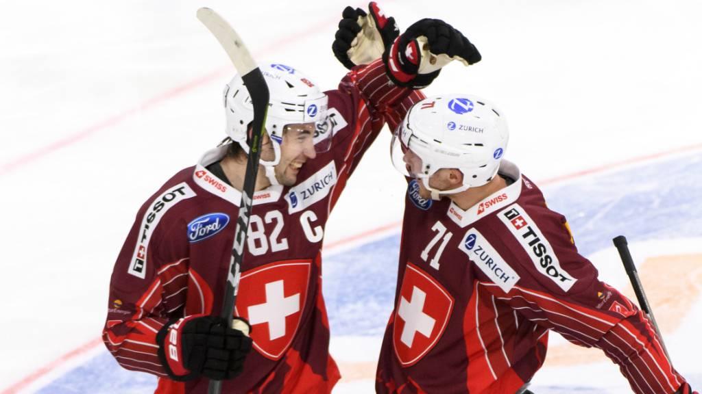 Schweiz erreicht am Vierländerturnier in Visp Final gegen Russland