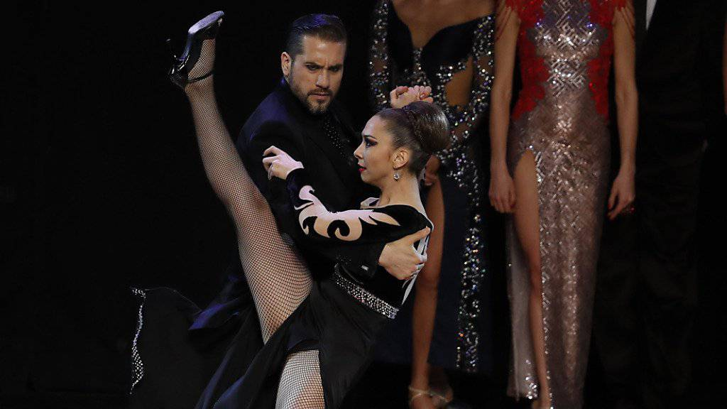 Argentinisches Paar gewinnt Tango-Weltmeisterschaft