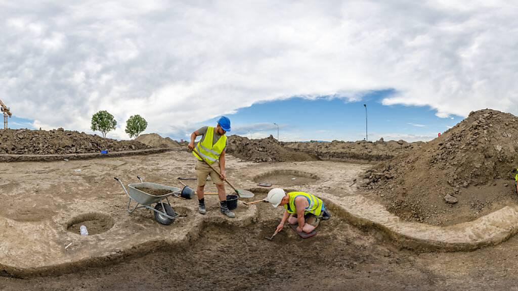 3000 Jahre alte Goldgegenstände bei Grabung in Österreich entdeckt