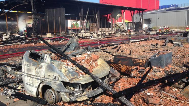 Ende September kam es zum verheerenden Brand auf dem Wisa-Gloria-Areal.