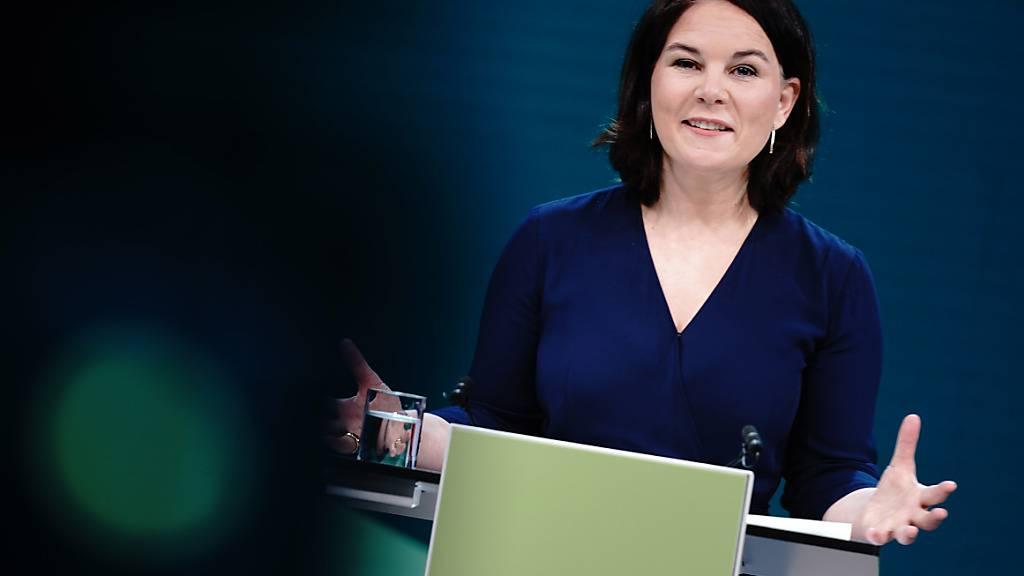 Die Grünen-Vorsitzende Annalena Baerbock soll ihre Partei als Kanzlerkandidatin in die Bundestagswahl führen. Foto: Kay Nietfeld/dpa