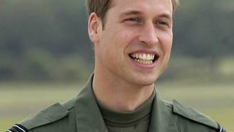 Prinz William konzentriert sich auf seine militärische Karriere (Archiv)