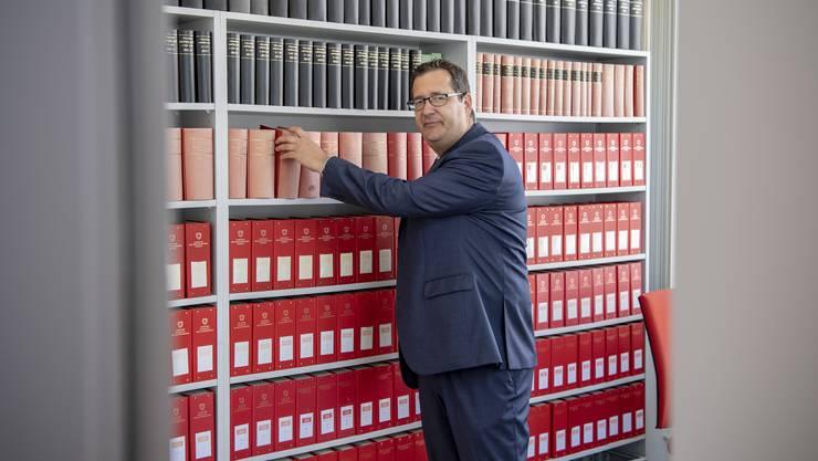 Stefan Keller soll ausserordentlicher Bundesanwalt werden.