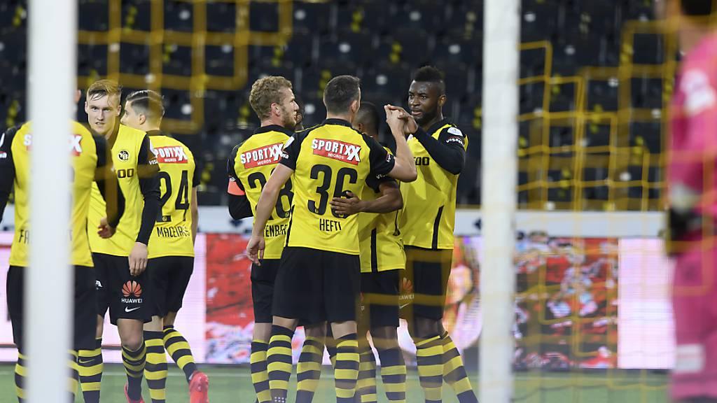Die Young Boys lassen sich gegen Luzern nicht aus der Ruhe bringen