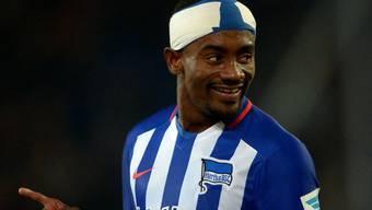 Herthas Salomon Kalou erzielte mit seinem Turban drei Tore gegen Hannover