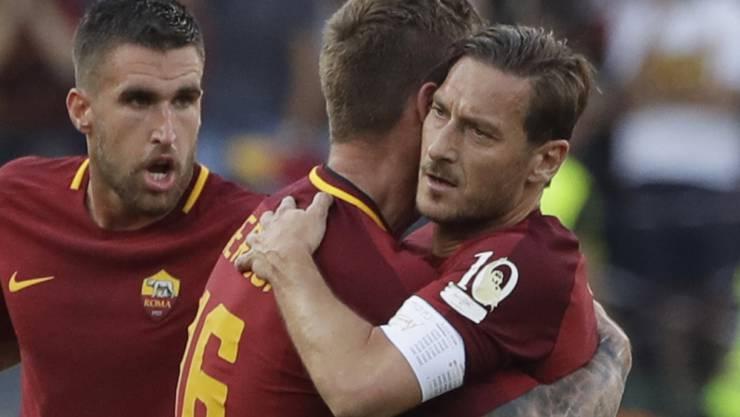 Der Römer Volkstribun verabschiedet sich: Francesco Totti