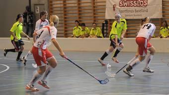 Premiere der NLB-Unihockeyfrauen von Basel Regio