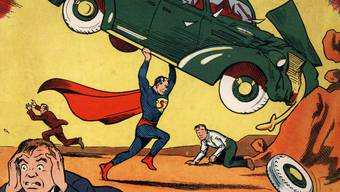 Wertvolle Erstausgabe von Superman-Comic (Archiv)