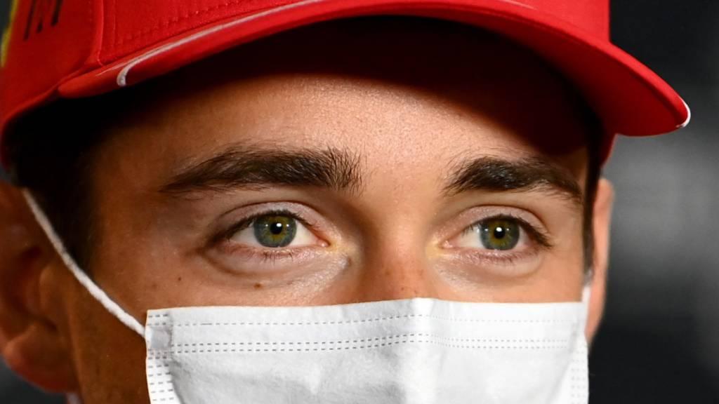 Leclerc: Pole-Position und dann ein Unfall