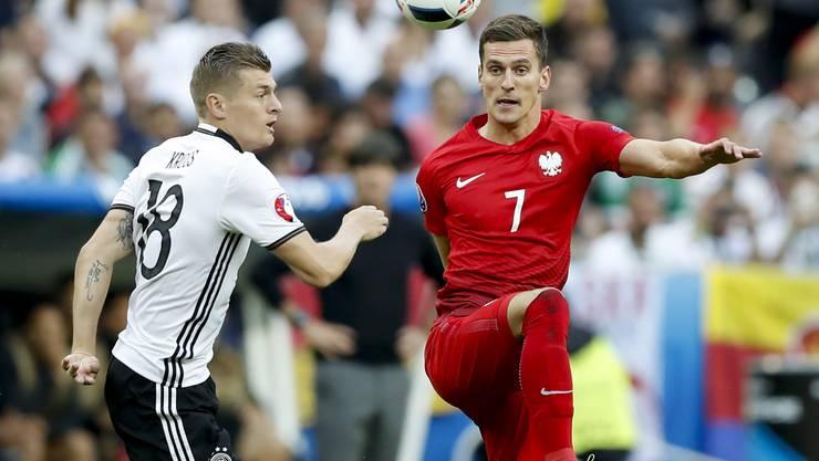 Deutschland und Polen: Mit einem Sieg hätten sich beide den Gruppensieg sichern können.