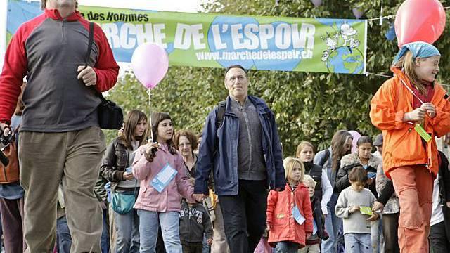 Marsch der Hoffnung im Jahr 2007 (Archiv)